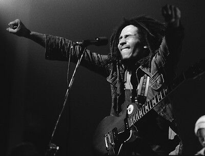 Bob Marley UNSIGNED Photograph - L3935 - Brooklyn, May 1976 - NEW IMAGE!!! • 3.99£