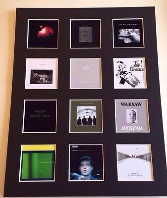 Joy Division LP Discography Mounted Picture 14  By 11  FRee Postage • 14.99£