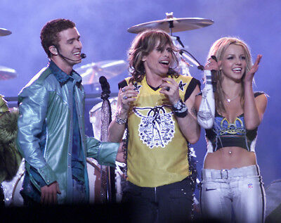 Steven Tyler, Britney Spears And Justin Timberlake Photograph - M9500 • 3.99£