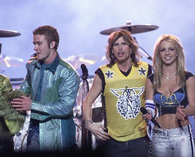 Steven Tyler, Britney Spears And Justin Timberlake Photograph - M9507 • 3.99£