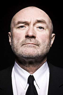 Phil Collins UNSIGNED 6  X 4  Photograph - M9601 - English Singer And Actor • 1.35£