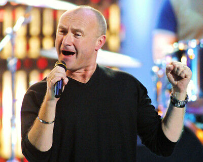 Phil Collins UNSIGNED Photograph - M9598 - English Singer And Actor - NEW IMAGE! • 2.99£