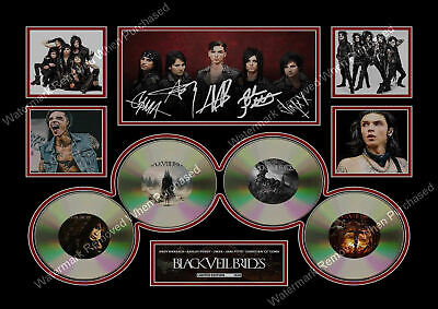 Black Veil Brides Vale Andy Biersack Limited Edition Memorabilia Signed • 7.89£