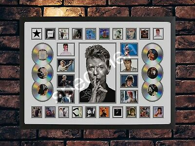David Bowie A4 Signed Photo Collage Limited Edition  Memorabilia • 7.89£