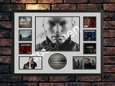 Eminem Signed Limited Edition  Autographed A4 Music Photo Print  • 7.89£