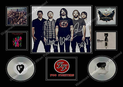 Foo Fighters  Signed Limited Edition Memorabilia  A4 Autographed Print • 7.89£
