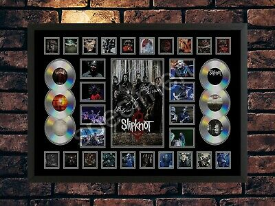 Slipknot Signed A4 Limited Edition  Memorabilia Photo Print • 7.89£