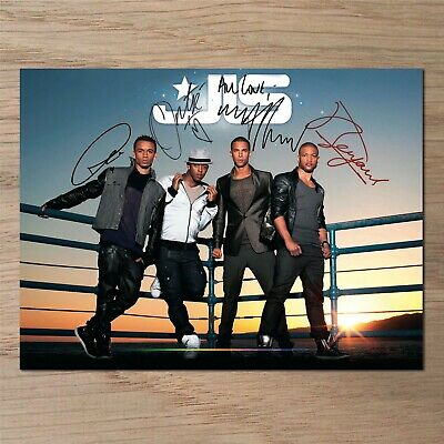 JLS Signed Photo....LOOK...BIG...8  X 6  A5 • 2.99£
