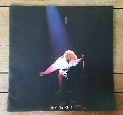 Simply Red   A New Flame World  Tour Programme, 1989 • 1.50£