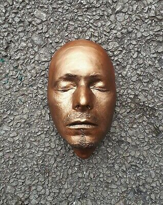 David Bowie Mask Life Face Cast Mask Life Size Bust Very Rare 1995 Casting • 25£