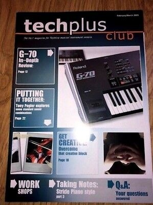 5 X Techplus Club Magazines Feb 2005 To Nov 2005 (The No.1 For Technics Musical  • 20£