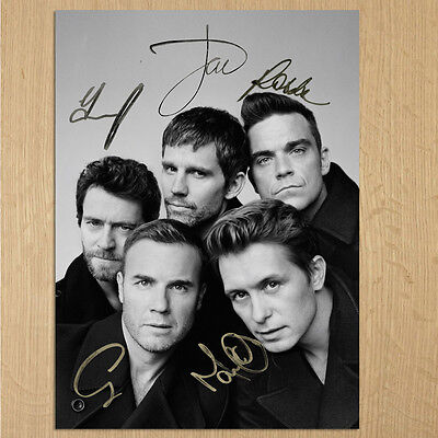 TAKE THAT  Signed Photo....LOOK..BIG !!   8  X 6  A5 • 2.99£