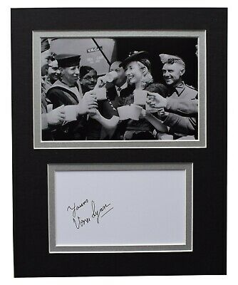 Vera Lynn Signed Autograph 10x8 Photo Display WW2 Music Memorabilia AFTAL COA  • 29.99£