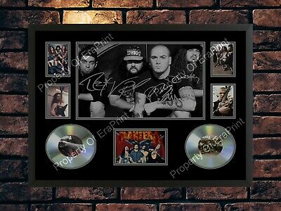 Pantera Dimebag Derrell Signed Heavy Metal Rock Band A4 Photo Print Memorabilia • 7.89£