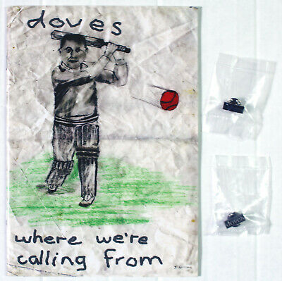 Doves - Where We're Calling From 2002 Winter Tour Official Fanzine + Pin Badges • 17£