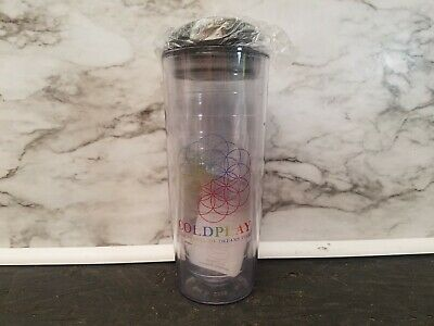 Coldplay Water Cup A Head Full Of Dreams Tour Concert Souvenir - Brand New Clear • 11.77£
