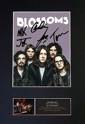 BLOSSOMS Mounted Signed Autograph Photo Print A4 #647 • 5.95£