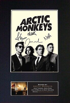 ARCTIC MONKEYS Mounted Signed Autograph Photo Print A4 #186 • 5.95£