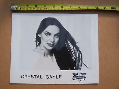 Crystal Gayle - Promotional Photo - Used Condition    - Please Scroll Down • 5£
