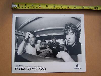 The Dandy Warhols    Promotional   Photo - Used Condition - Please Scroll Down • 5£