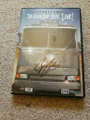 Union Do You're Own Thing Dvd Signed Bruce Kulick Rare • 25£