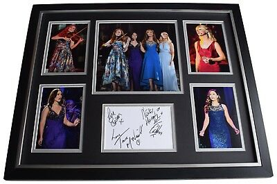 Celtic Woman SIGNED Framed Photo Autograph Huge Display Music 2018 AFTAL & COA • 249.99£