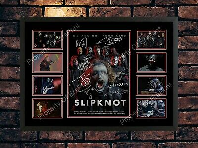 Slipknot We Are Not Your Kind 2019 Tour Memorabilia A4 Photo Print • 7.89£