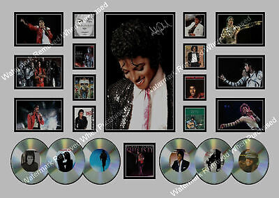 Michael Jackson Signed Limited Edition Memorabilia A4 Photo Print • 7.89£