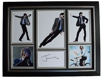 Jarvis Cocker Signed Autograph 16x12 Framed Photo Display Music Pulp COA • 129.99£
