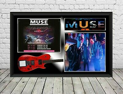 Muse Signed Photo Print Autographed Poster Memorabilia • 7.29£