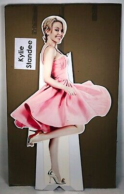 Kylie Minogue Rare Official 'At Home' Promotional Shop Display Lifesize Standee • 69.95£