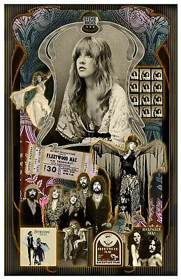 Stevie Nicks  - Fan Poster 11x17  - Vivid Colors • 11.72£