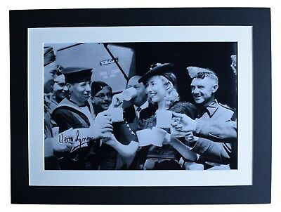 Vera Lynn Signed Autograph 16x12 Photo Display World War Two Forces Music COA • 39.99£