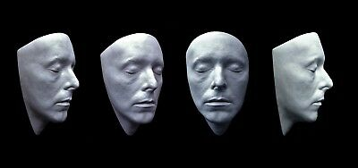 David Bowie Face Cast Mask Life Size Bust The Hunger 1983. (white)   • 25£