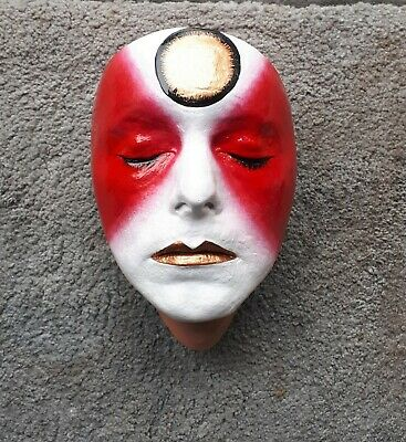 David Bowie Face Cast Life Size Bust The Hunger. Ziggy Stardust • 50£