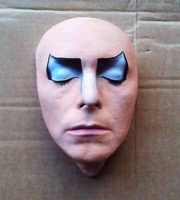 David Bowie Mask Cast. Life Face Cast Life Size Bust Jareth In Labyrinth  • 60£