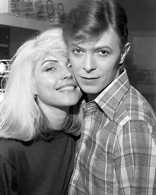 Debbie Harry 55 With David Bowie (music) Photographs-keyring-fridge Magnets-mugs • 25£