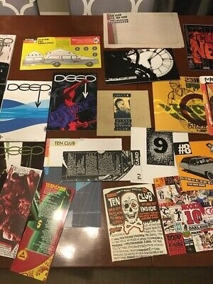 Pearl Jam Newsletter Collection Of Over 20 Years + Other Items • 63.52£