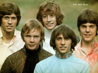 Bee Gees Poster Page . 27t70 • 5.99£