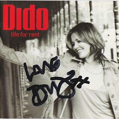 Dido Autograph  Life For Rent  Hand Signed Cd Album  • 29.99£