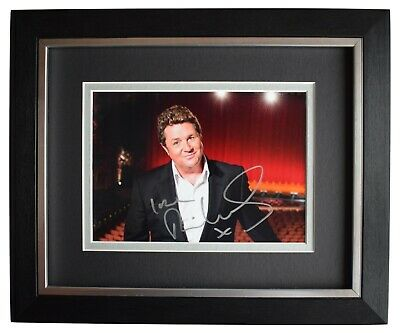 Michael Ball Signed 10x8 Framed Autograph Photo Display Music AFTAL COA • 59.99£