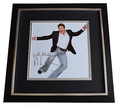 Michael Ball SIGNED Framed LARGE Square Photo Autograph Display Music Radio COA • 99.99£