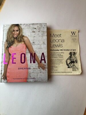 Leona Lewis Signed Book 1st Edition • 25£