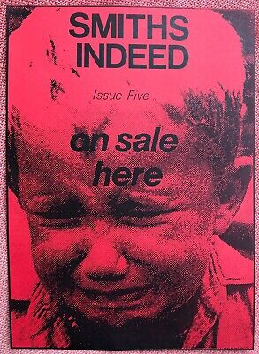 Smiths Indeed Fanzine Issues 1-6 Reprints - LAST THREE SETS • 12£