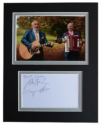 Foster & Allen Signed Autograph 10x8 Photo Mount Display Irish Music AFTAL COA • 32.99£