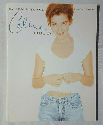Celine Dion Falling Into You ,sheet Music Songbook Unused Publication • 10.99£
