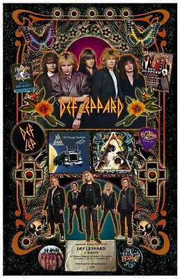 Def Leppard Tribute Poster - 11x17  - Vivid Colors! • 11.81£