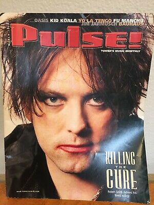 Robert Smith The Cure Pulse Magazine Cover March 2000 Tower Records Music • 13.51£