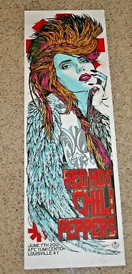 RED HOT CHILI PEPPERS June 7th 2012 Louisville Kentucky POSTER Rhys Cooper S/N • 159.62£