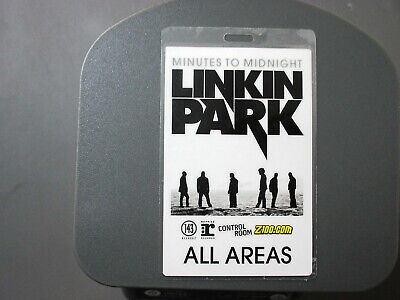 Linkin Park Backstage Pass Laminated All Areas Z-100 ! • 7.89£